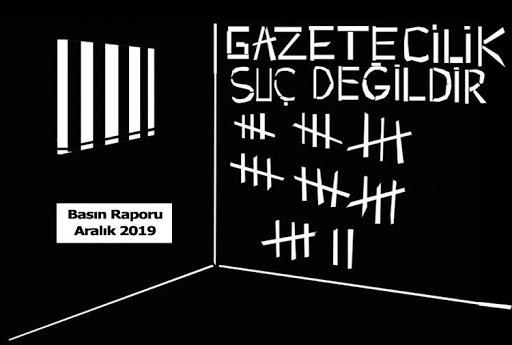Türkiye'de  basın çalışanlarına onlarca yıl hapis