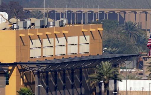 Bağdat'taki ABD Büyükelçiliği yakınına üç füze düştü