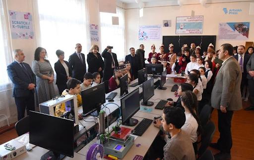 """27. """"Armat"""" Mühendislik Laboratuvarı Artsakh Cumhuriyeti'nde açıldı"""