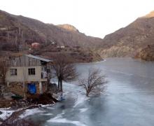Հայկական լեռնաշխարհի ամենաարագահոս՝ Ճորոխ գետը սառցակալել է