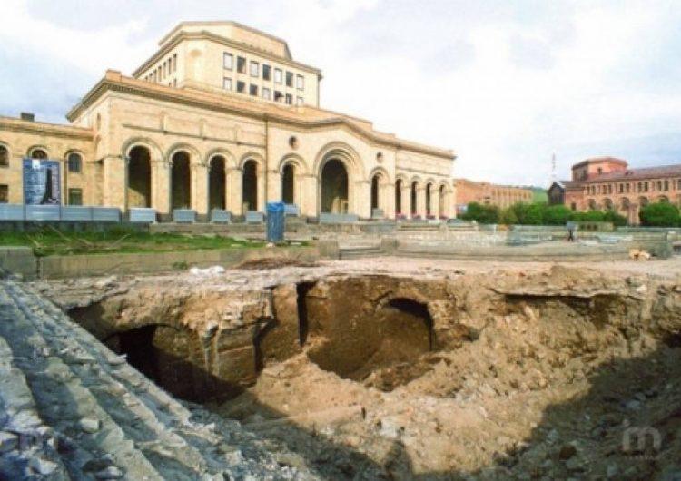 Yerevan Cumhuriyet Meydanı'nın altındaki tarihi katman açılacak ve müzeye dönüştürülecek
