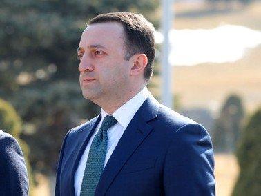 Gürcistan Savunma Bakanı Tsitsernakaberd adlı Soykırım Anıt Kompleksi'ni ziyaret etti