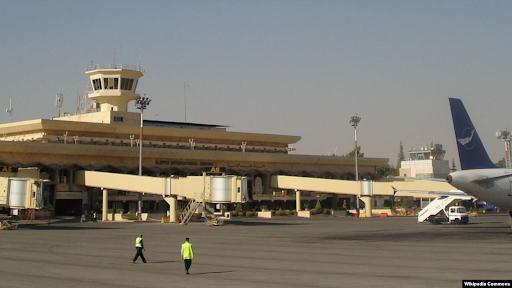 Halep uluslararası havaalanındaki çalışmalar devam ediyor