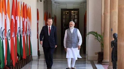 Hindistan Türkiye'ye nota verdi
