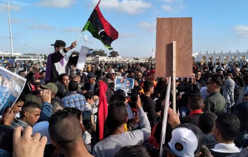 Լիբիոյ մէջ կայացած հակաթրքական բողոքի ցոյցին մասնակցեր է աւելի քան 200,000 մարդ