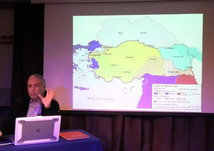 Partie 3 – N. Lygeros: Le traité de Sèvres, la stratégie des 100 ans, 21/01/2020
