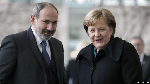 Никол Пашинян встретится в Германии с Ангелой Меркель
