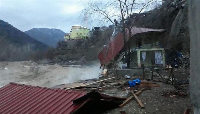 Արեւմտեան Հայաստանի Կեսարիոյ տարածքին տեղատարափ անձրեւը հեղեղի պատճառ դարձեր է