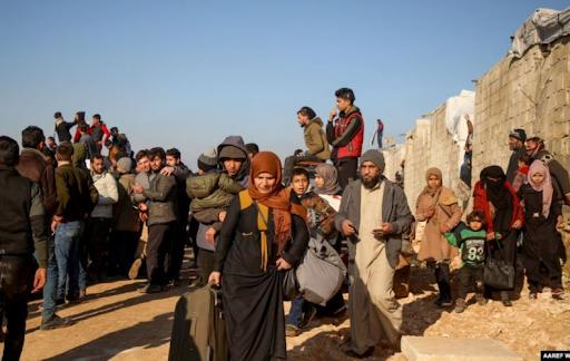 ООН: За два месяца северо-запад Сирии покинули более 500 тысяч человек