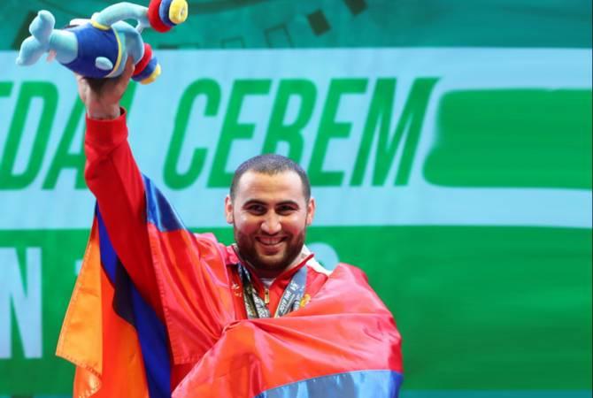 Simon Martirosyan dünyanın en iyi ikinci haltercisi