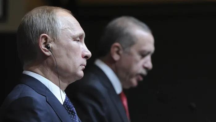 Путин отказал Эрдогану в разделе Сирии