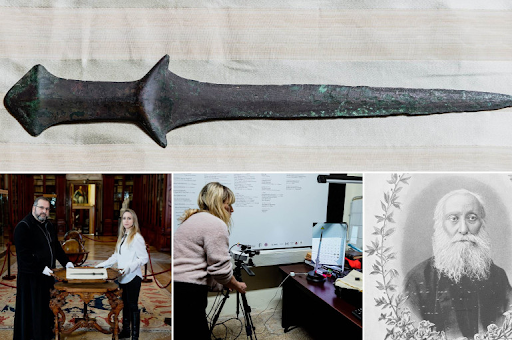 The sword in the Mekhitarist Congregation is 5,000 years old