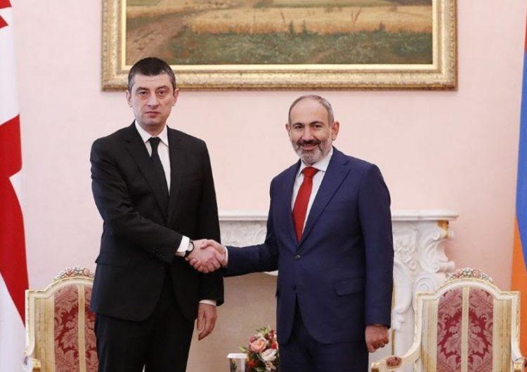 ՀՀ վարչապետը պաշտօնական այցով ժամաներ է Վրաստան
