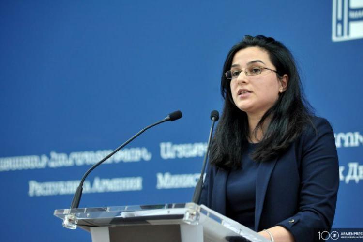 Anna Naghdalyan; Azerbaycan'daki düşük demokrasi standartları barış sürecini engelliyor