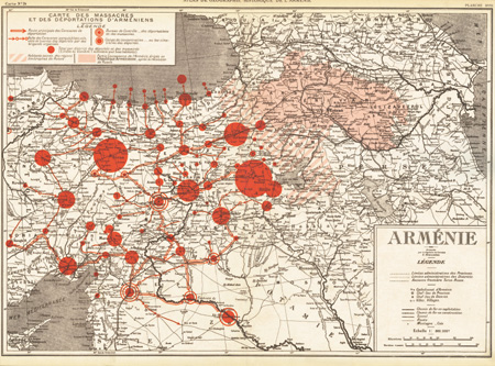 Turkish mass media concerned over Genocide against Armenians maps in Jerusalem