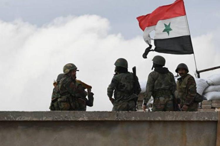 Suriye ordusu Şam-Halep karayoluna yönelik terörist saldırıları püskürtüyor