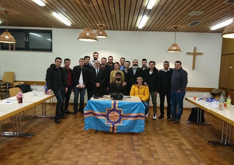 Batı Ermenistan Devlet Başkanı Almanya'yı ziyaret etti