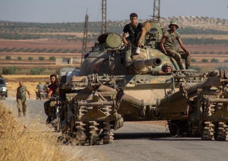 Ահաբեկիչները չորս անգամ գնդակոծեր են Սուրիական կառավարական բանակին դիրքերը Հալէպի տարածքին