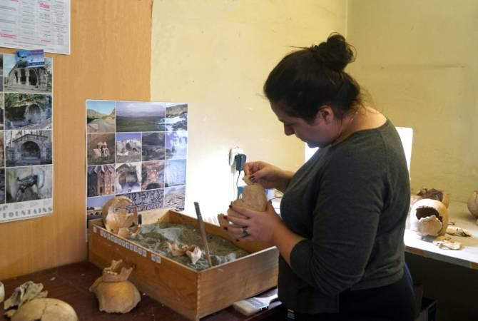 Հնագէտները Արտանիշի մէջ պեղեր են մ․ թ․ ա․ 7-6 դարերով թուագրուող մանկական կմախքներ