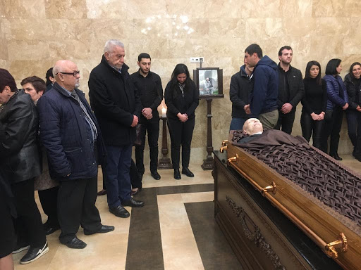 National Council of Western Armenia pays tribute to Samvel Karapetyan