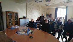 Արեւմտեան Հայաստանի Նախագահ Արմենակ Աբրահամեանի հանդիպումը Հայկեան միաբանութեան հետ