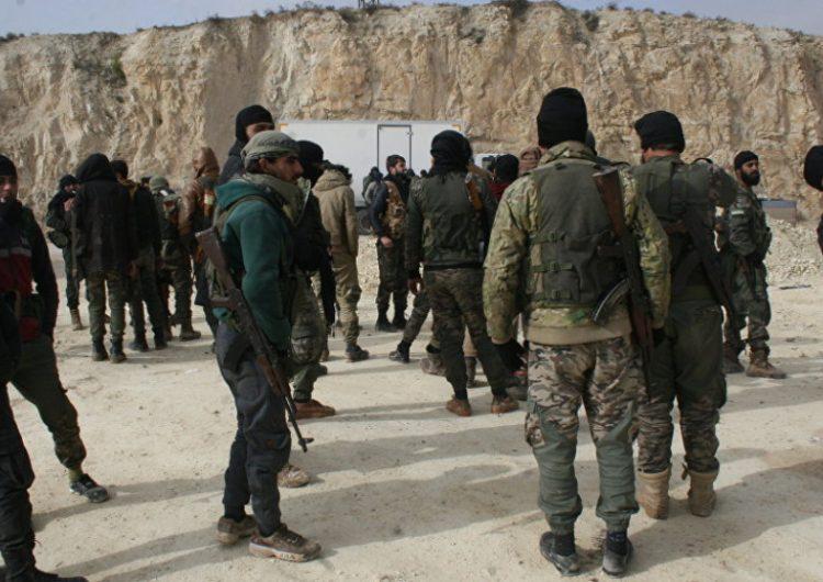 Սուրիոյ ազգային բանակ խմբաւորումը դադրեցուցեր է վարձկաներու տեղափոխումը Լիբիա