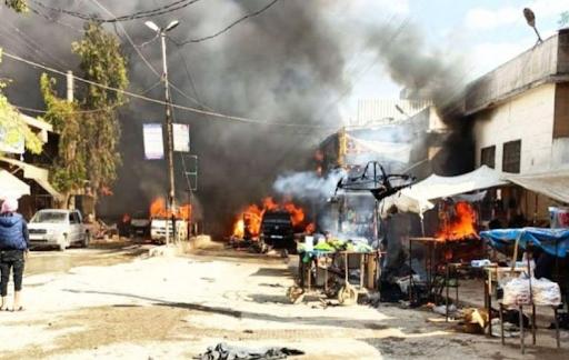 Мощный взрыв в Сирии. Есть десятки жертв и раненых. ТАСС