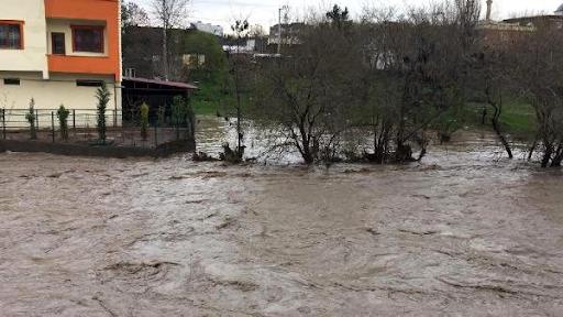 Batı Ermenistan'ın Tigranakert şehrinde sel felaketi