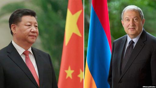 Չինաստանի նախագահը Հայաստանին աջակցելու իր պատրաստակամութիւնը յայտներ է