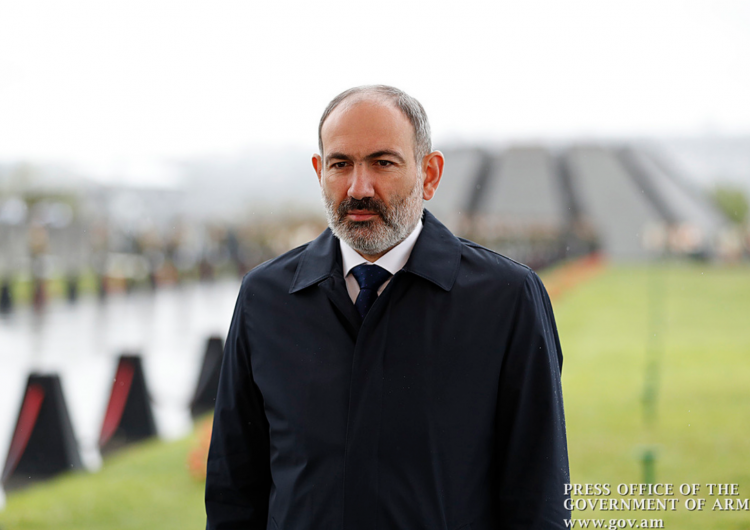 PM Pashinyan addresses message from Tsitsernakaberd Memorial on  Genocide against Armenians 105th anniversary
