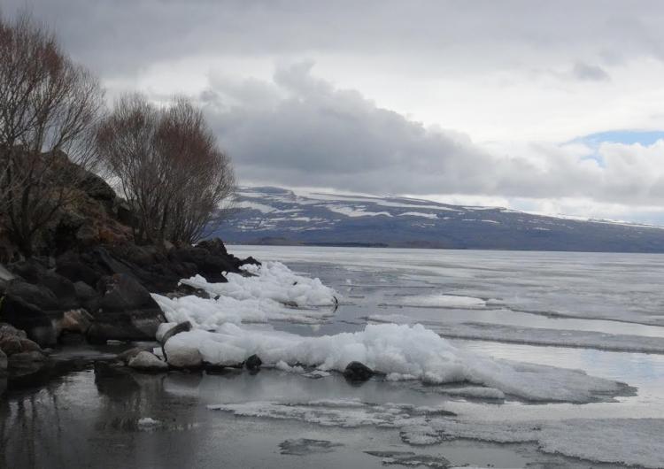 Batı Ermenistan'ın Çıldır Gölü'nde bahar uyanışı