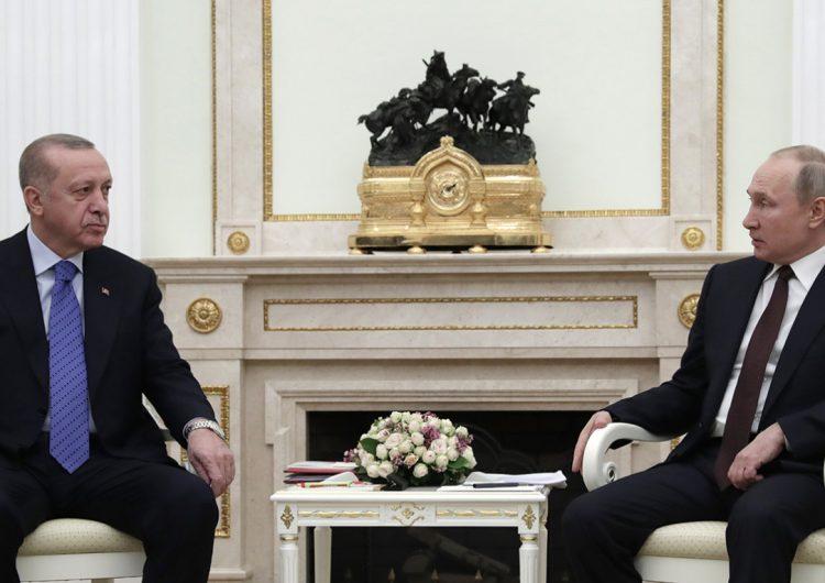 Путин и Эрдоган обсудили шаги по стабилизации ситуации в Идлибе