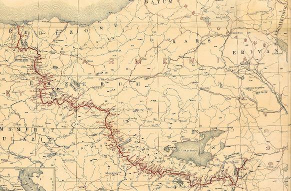 Թուրքիան անդրադարձել է Արևմտյան Հայաստանի  քարտեզին