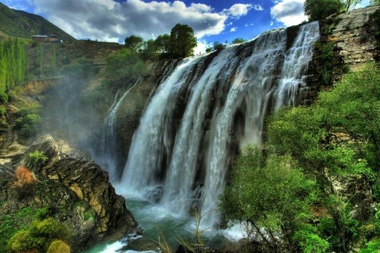 Tortum Waterfall in Karin will have more visitors