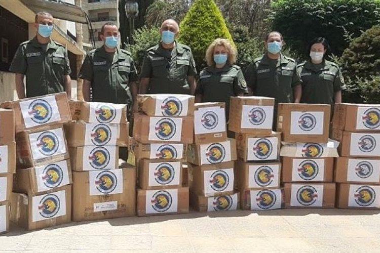 Ermenistan Cumhuriyeti, Halep Askeri Hastanesine ve diğer sağlık kurumlarına tıbbi ve diğer gerekli maddeleri temin etti.