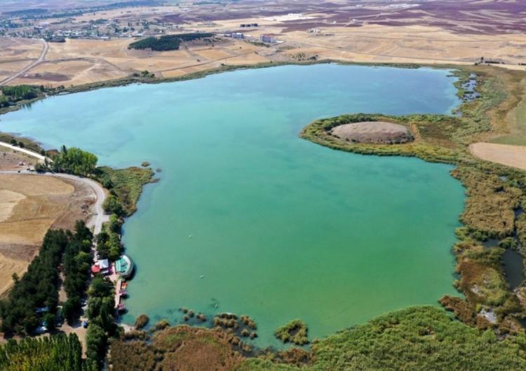 Batı Ermenistan'ın Sebastia ilindeki Hafik Gölü, doğal sit alanı ilan edildi