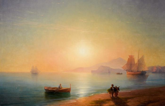 Dünyaca ünlü Ermeni ressam Hovhannes Ayvazovski'nin tuvali çevrimiçi açık artırmada 2.89 milyon dolara satıldı