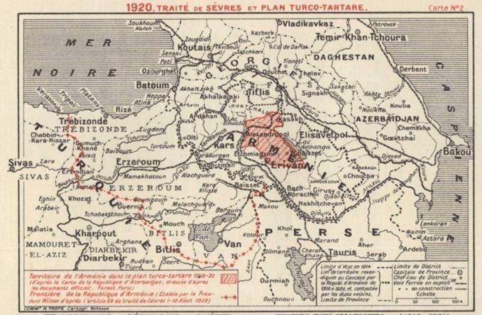 Doğu ve batı cephelerindeki durum: 1918 yılının Mayıs-Haziran aylarında Doğudaki Ermeni askeri-politik durumu