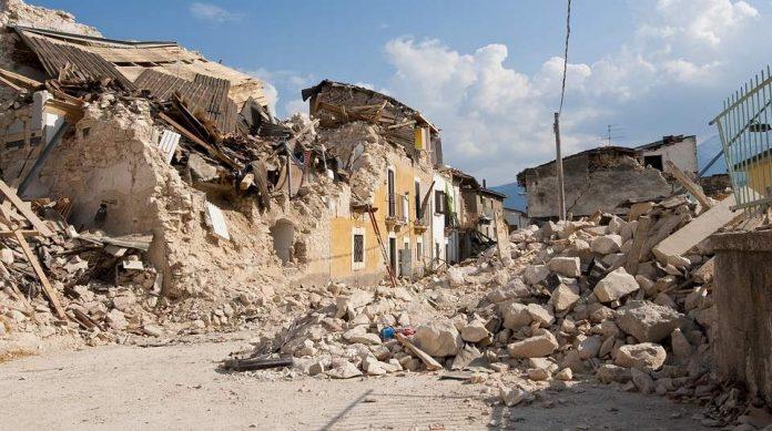 Earthquake in Byurakn province of Western Armenia