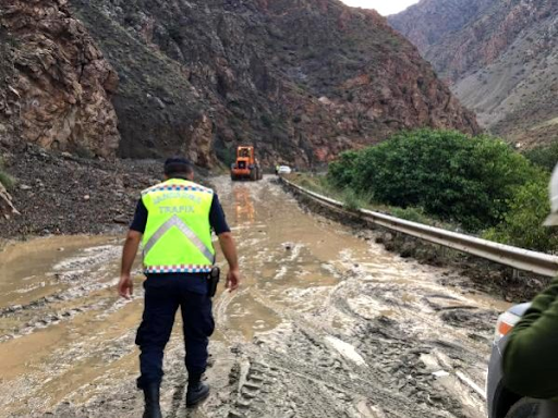In Western Armenia, the Ardvin-Karin highway has been closed due to a landslide