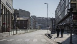 A curfew will be imposed in a number of states of Western Armenia