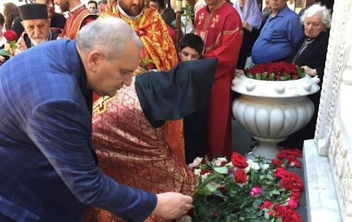 Թբիլիսի մէջ Սայաթ-Նովայի յիշատակին հարգանքի տուրք մատուցեր են