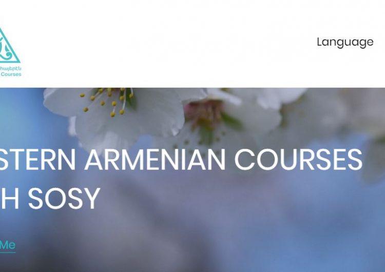 Ermenice konuşan  veya konuşmayanlar için Batı Ermenice çevrimiçi kursları