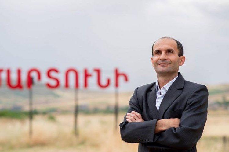 Artsakh Cumhuriyeti'nin Martuni şehrinde Edik Avanesyan belediye başkanı seçildi