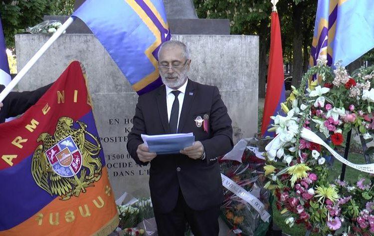 Déclaration du Président Arménag Aprahamian