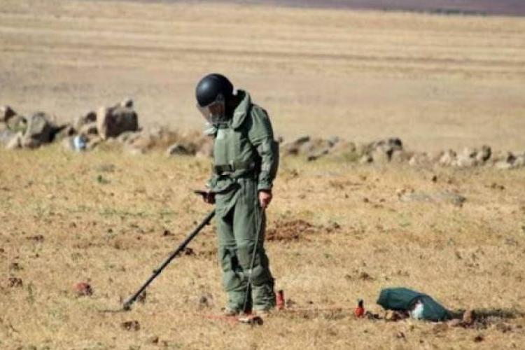 Suriye'deki Ermeni insani yardım misyonunun uzmanları 205.087 metrekarelik alanı mayından temizledi