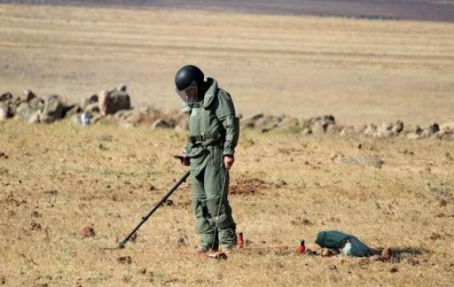 Армянские саперы разминировали 185 209 квадратных метров территории в Сирии с первого дня миссии