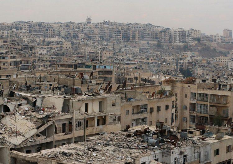 Halep'te yeni bir telekomünikasyon merkezi faaliyete geçti