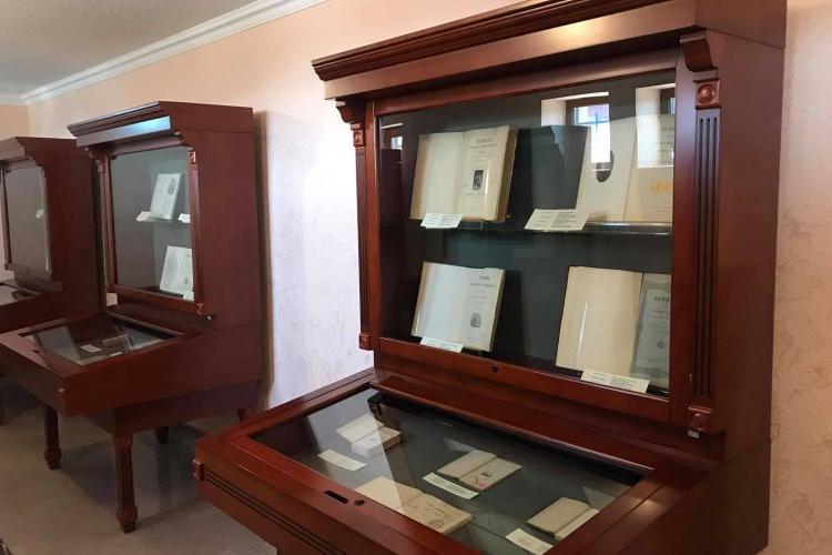 Ղեւոնդ Ալիշանի 200-ամեակին նուիրուած՝ «Մատենադարան-Գանձասար» կենտրոնին մէջ բացուեր է նոր ցուցադրութիւն