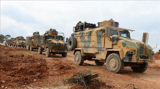 Թուրքիան ծանր զինատեսակները դուրս  բերած է Սուրիոյ մի քանի  մը շրջաններու առաջնագիծէն